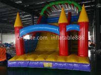 Outdoor Inflatable Slide Games with Factory Price Dry Slide for Kids for Commercial Use Inflatable Land Slide with Climbing Steps