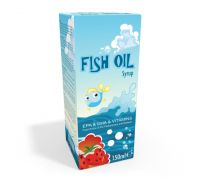 Fish Oil Strawberry Syrup