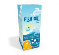 Fish Oil Orange Syrup
