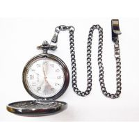 Men Pocket Watch Wooden Quartz Pocket Watch Gifty Pocket Watch