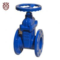 DIN3352-F4 Non Rising Iron Gland Resilient seated gate valve