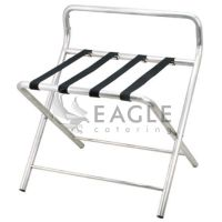 Hotel Stainless Steel Luggage Rack Tray Stand