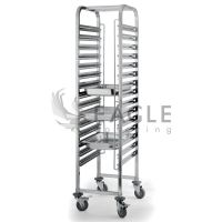 Commercial Catering Gastronorm Stainless Steel Bakery Tray Rack Trolley