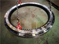 excavator slewing bearing with internal gear