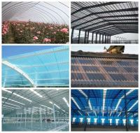 Greenhouse Use Fiberglass Transarent Sheet for skylight/Fiberglass Reinforced Polyester Transparent Roofing Sheet