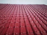 Spanish Style Polymer Plastic Roof Tiles with Fiberglass Reinforcement/PVC Plastic Roofing Tiles/ASA Synthetic Resin Roof Tiles for House