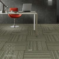Stock Nylon Loop Pile Carpet Rug for Office Floor Covering/Cube Carpet Tiles for Office