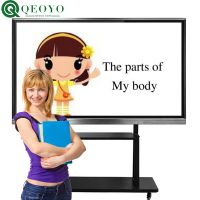 qeoyo Customized 100 inch interactive whiteboard with factory direct sale price