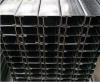 Construction Material Cleanroom System Profile Steel Processing C-Shaped Steel Bracket for Industry Project
