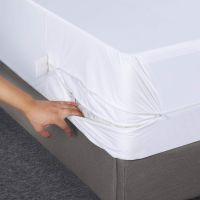 Zippered Mattress Encasement - Bed Bug Proof, Dust Mite Proof Mattress Cover - Waterproof Mattress Protector