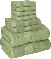 100% Ring Spun Cotton Luxury 600 GSM Towel Set (2 Bath Towels, 2 Hand Towels & 4 Washcloths)