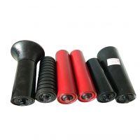 Painted Steel Pipe Rollers Belt Conveyor Carrying Roller