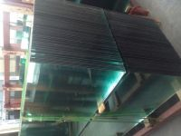 Ultra Clear Tempered Glass with Flat Polished Edge