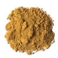 Iron trioxide Fe2O3 yellow colour