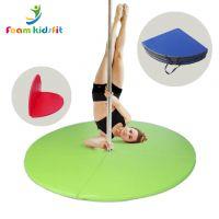 Customized  folding pole dance soft mat floor sport mat