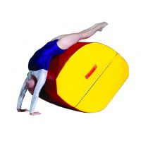 Square back handspring trainer  mat for kids gym training