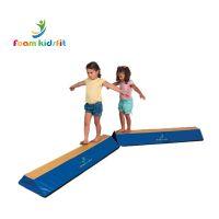 Kids gymnastic folding balance beam mat