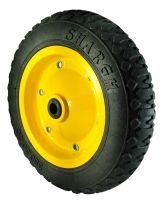Tubeless Wheelbarrow Wheel - PVC bushing - 350x8