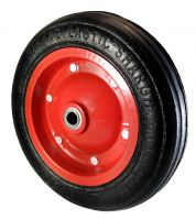 Tubeless Wheelbarrow Wheel 350*80 - Rubber ball bearing