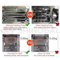 Electric & Gas 1/2 Tanks Fryer
