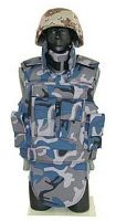 Sell Bulletproof Vest and Steel Helmet