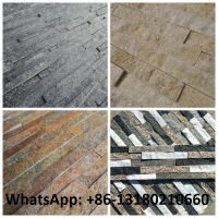 Factory price Culture Slate Stacked Stone cladding Panel