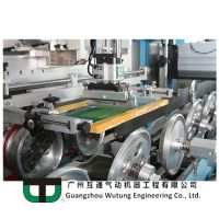 WUTUNG AUTOMATIC UV CURING & SCREEN PRINTING SYSTEM - SCREEN TRAIN SERIES CA-103