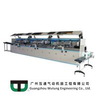 WUTUNG AUTOMATIC UV CURING AND SCREEN PRINTING SYSTEM - SCREEN TRAIN SERIES CA-103