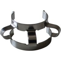 Lab clamps for holding flasks beakers condensers separatory funnel