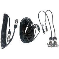 BOYO Vision VTSP415 4-Pin Spiral Trailer Cable