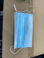 High quality surgical non woven 3 ply disposable face mask with ear loops anti virus faceshield
