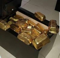 AU GOLD BARS AND ROUGH UNCUT DIAMONDS