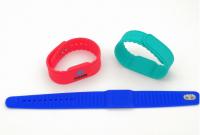 125KHz/13.56MHz customized rfid wristband for club access control