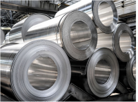 Cold rolled steel coils.