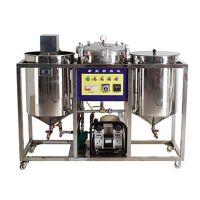 Small scale edible oil refining machine crude oil refinery machine, mi