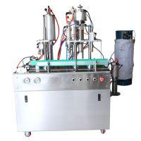 Semi automatic aerosol filling machine for self defense pepper spray
