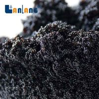 Black color ion exchange resin for water softening