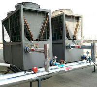 air source water chiller and heat pump for school cooling and heating