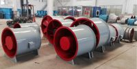 SWF Mixed Flow Fan for air conditioner system