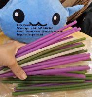Rice powder straws vietnam