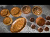Dinner Set, Ceramics & Glazed