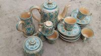 Ceramic Tea Set, Sky Blue Color