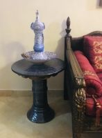 Round Central Table, Ceramic