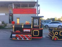 High-quality low price electric trackless train amusement park train