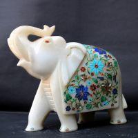 STONE OR MARBLE ELEPHANT
