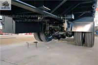 Flatbed Container Transport Semi Truck Trailer