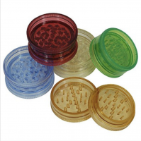 2 Inch plastic herb Grinder with matrix teeth