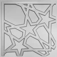 Laser Cut Metallic Paint Aluminum Screen Panels/ Mashrabiya Balcony/ Stair Railing