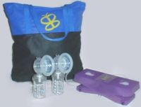 VersaPed Foot-Powered Breast Pump (with Massaging flanges)
