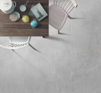 Light grey Polished and Matt porcelain floor tile 600x1200mm